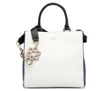 Dania Girlfriend Shopper Handtasche in weiß