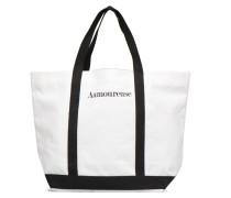 Cabas Coton Aamoureuse M+ Handtasche in weiß