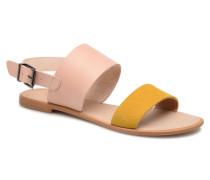 FLORA L Sandalen in gelb