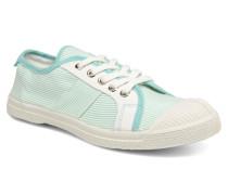 Fines Rayures Sneaker in grün