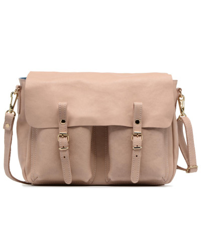 Mini Maths Reversible Cuir Handtasche in rosa