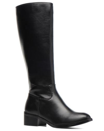 Buffalo Damen ELB 2 Stiefel in schwarz Auf Heißen Verkauf Komfortable Online-Verkauf z1qK4