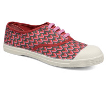 Tennis Retro Triangle Sneaker in rosa