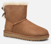 W Mini Bailey Bow II Stiefeletten & Boots in braun