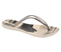Wave Tropical Zehensandalen in beige