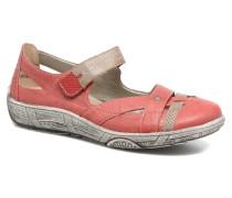 Mila D3805 Ballerinas in rot