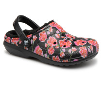 Classic Lined Graphic II Clog Clogs & Pantoletten in mehrfarbig