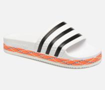 Adilette New Bold W Clogs & Pantoletten in weiß