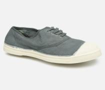 Tennis Lacets Sneaker in grau