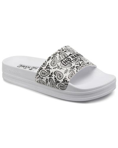 Jungle Slap Bandana Clogs & Pantoletten in weiß