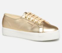 2730 Synt Pearl DW Sneaker in goldinbronze
