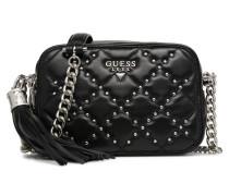 Ariel Cuir Camera Bag Handtasche in schwarz