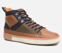 Falcon Mix Sneaker in braun