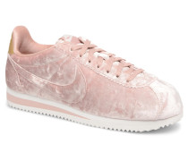 Cortez Velvet Sneaker in rosa
