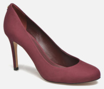 Jelissa nub Pumps in weinrot