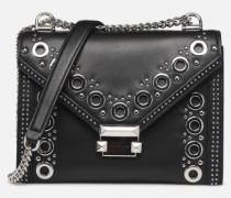 Whitney LG Shoulder Handtasche in schwarz