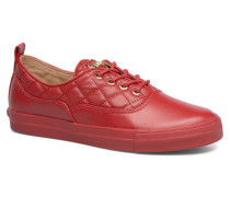 Superquilted Sneaker in rot