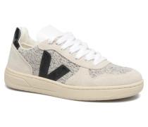 V10 Flannel Sneaker in beige