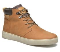 Track Sneaker in braun