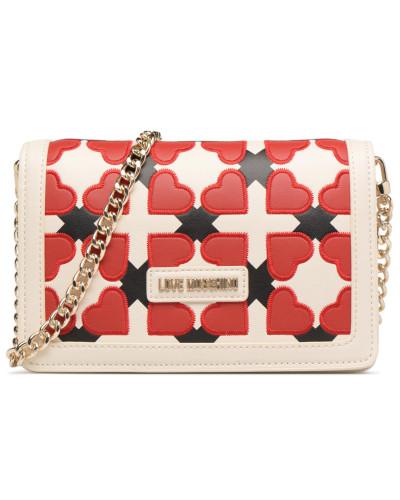Moschino Damen Crossbody JC4288PP05 Handtasche in rot Kaufen Günstigen Preis Auslauf Spielraum Beliebt Günstig Kaufen Countdown-Paket Günstig Kaufen Bilder jEjvNu