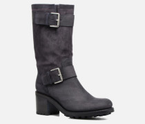 BIKER 7 MID STRAP VELOURS BRONX LIGHT Stiefel in blau
