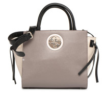 OPEN ROAD SATCHEL Handtasche in beige