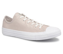 Chuck Taylor All Star Tipped Metallic Ox Sneaker in grau