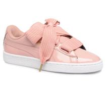 Basket Heart Patent Wn's Sneaker in rosa