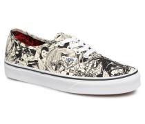 Authentic w Sneaker in weiß