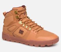 Pure HighTop WR Boot Sneaker in braun