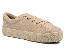 STATICC Sneaker in goldinbronze