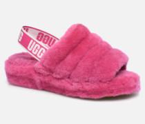 Fluff Yeah Slide Hausschuhe in rosa