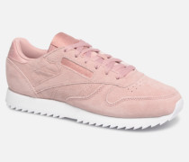 Classic Leather Ripple Sneaker in rosa