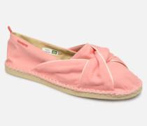 Origine Twist Espadrilles in rosa