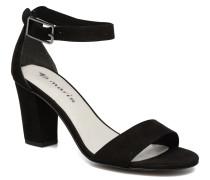 Digitale Sandalen in schwarz