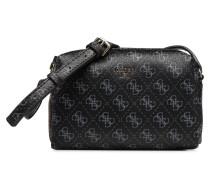 Flora Mini Crossbody Handtasche in schwarz