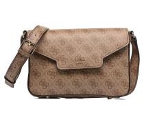 Joleen Crossbody Flap Handtasche in braun
