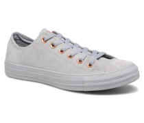 Chuck Taylor All Star Tonal P. Suede Ox Sneaker in grau