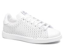 Deportivo Tenis Perforado Sneaker in weiß