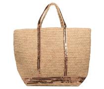 Cabas Raphia Grand Handtasche in beige