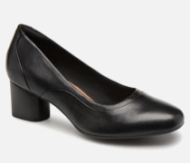Un Cosmo Step Pumps in schwarz