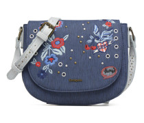 Denim Flowers Varsovia Handtasche in blau