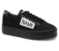 PLATO SNEAKER TWILLinPATCH Sneaker in schwarz