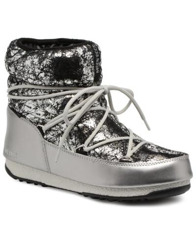 Spielraum Browse Moon Boot Damen low crackled Sportschuhe in silber Preis Epo1o4Hu