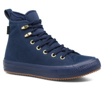 Chuck Taylor WP Boot Nubuck Hi Sneaker in blau