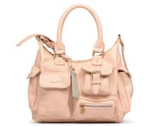Metallic Splatter London Handtasche in rosa
