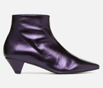 80's Disco Girl Bottines à Talons #2 Stiefeletten & Boots in lila