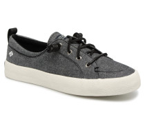 Crest Vibe Crepe Chambray Sneaker in grau