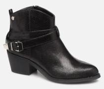49485 Stiefeletten & Boots in schwarz