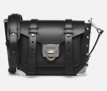 MANHATAN SM MESSENGER Handtasche in schwarz